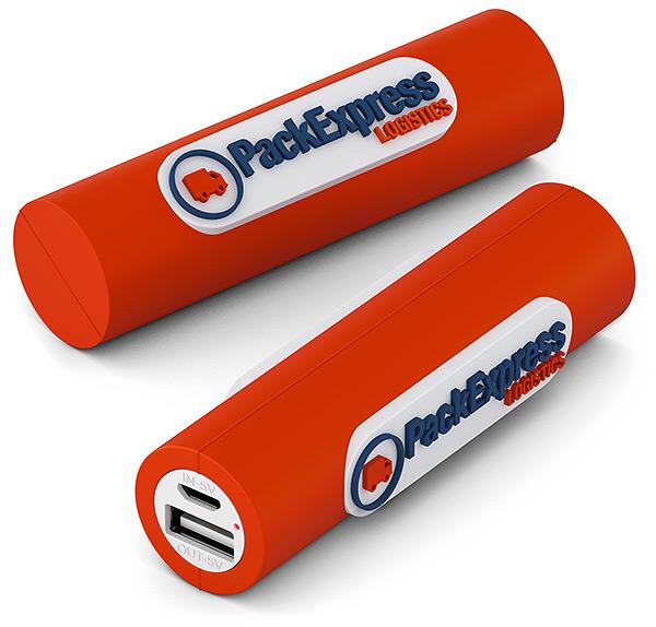 USB Akku Eigenform 3D, Powerbank in Sonderform, Werbemittel Powerbank