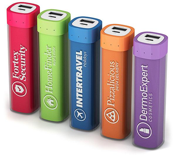 Powerbank mit Firmenlogo, Powerbank mit Logo, Powerbank bedruckt, Werbemittel Powerbank