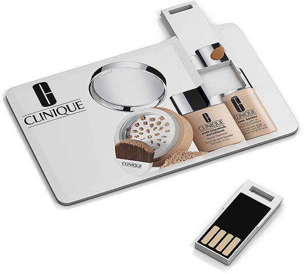 USB Karte mit Firmenlogo, USB-Werbemittel mit Logo, Kreditkarte bedruckt, USB Karte individuell bedruckt